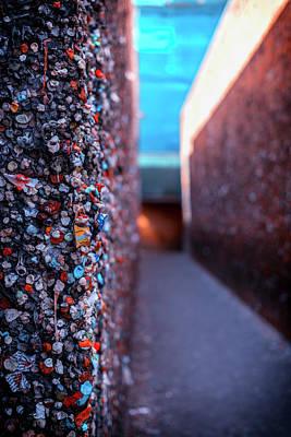 Photograph - Do You Dare Enter Bubblegum Alley by Marnie Patchett
