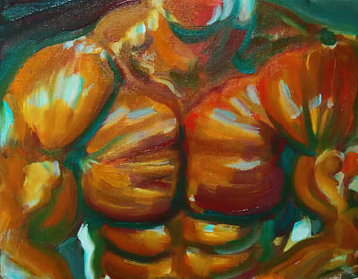 Bodybuilding Painting - Do You Even Lift? by Christian Scott Relleve