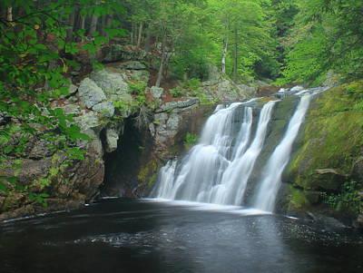 Photograph - Doanes Falls Lower Falls by John Burk