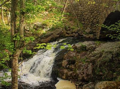 Photograph - Doanes Falls Royalston Ma by Michael Saunders