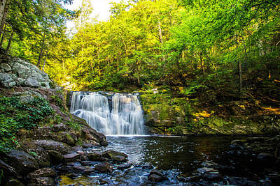 Photograph - Doans Falls Lower Falls by John Forde