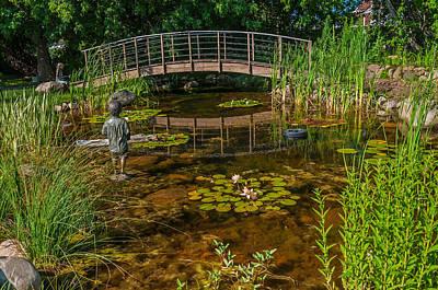 Photograph - Dobson Flower Garden by Lonnie Paulson