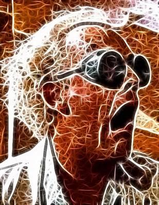 Crazy Mixed Media - Doc Brown Mistical by Paul Van Scott