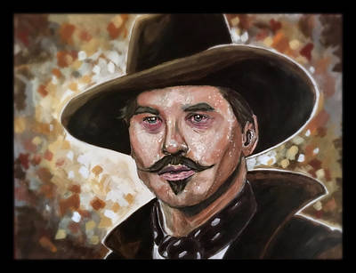Painting - Doc Holliday by Joel Tesch