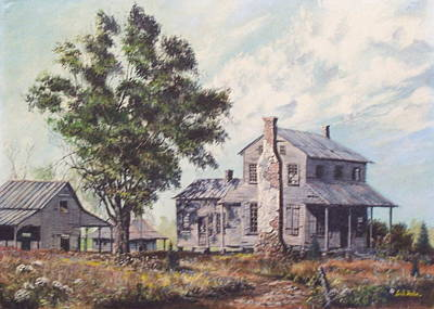 Painting - Doc Hunter's Place Available by Jack Bolin