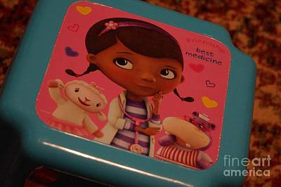 Foot Stool Photograph - Doc Mcstuffins by Maxine Billings