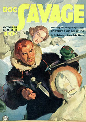 Painting - Doc Savage Fortress Of Solitude by Conde Nast