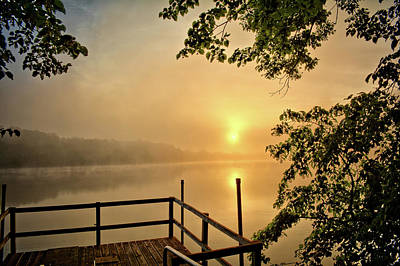Photograph - Dock At Beeds by Bonfire Photography