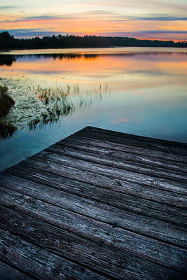 Photograph - Dock Beauty by Parker Cunningham