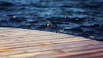 Boating Digital Art - Dock by Cco