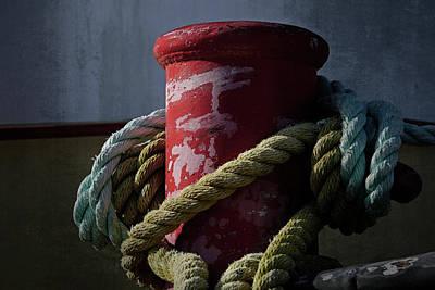 Photograph - Dock Detail - 365-175 by Inge Riis McDonald