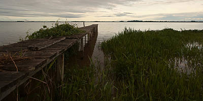Photograph - Dock In The Morning by Ron Dubin