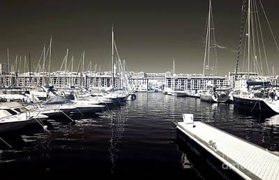 Dock In The Port Art Print