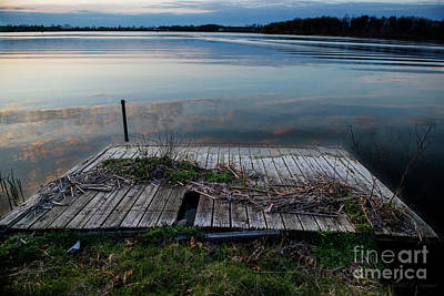 Photograph - Dock In The Water by David Arment