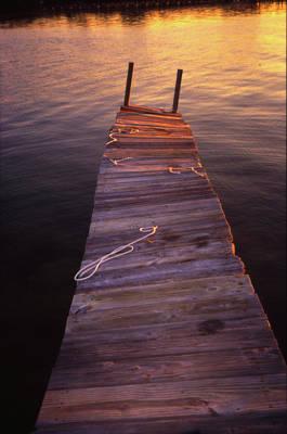 Photograph - Dock by Joseph Hedaya