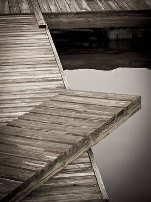 Photograph - Dock by Laurie Hasan