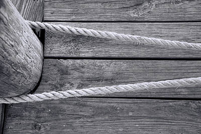 Photograph - Dock Lines by Ed Waldrop