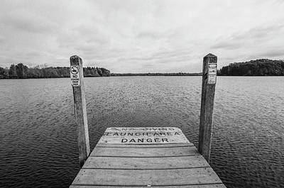 Photograph - Dock No Diving  by John McGraw