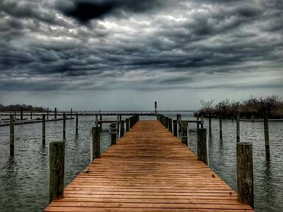 Photograph - Dock Of The Bay by Chris Montcalmo