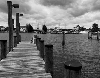 Photograph - Dock Of The Bay by James C Thomas