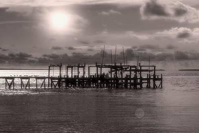 Dock Of The Bay Art Print