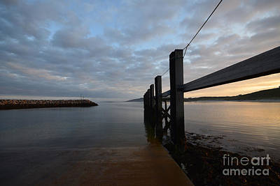 Ferry Photograph - Dock Of The Bay by Nichola Denny