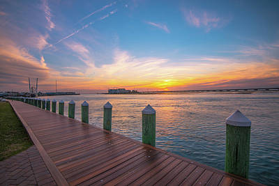 Photograph - Dock Of The Bay by Steven Ainsworth