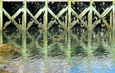Photograph - Dock On The Bay by Randall Weidner