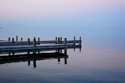 Photograph - Dock On The Indian River by Bradford Martin