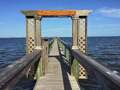 Photograph - Dock On The Indian River by Denise Mazzocco