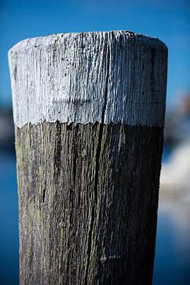 Photograph - Dock Piling by Allan Morrison