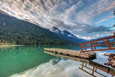 Photograph - Dock Reflection At Birkenhead Lake by Pierre Leclerc Photography