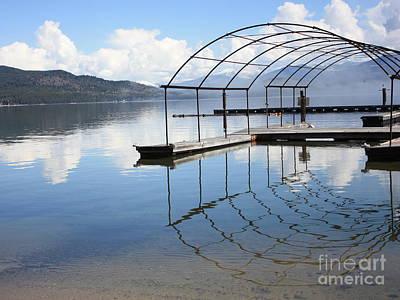 Photograph - Dock Reflection by Carol Groenen