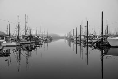 Photograph - Dock Reflections by Trent Mallett