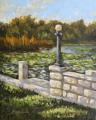 Painting - Dock Side by Jose Rodriguez