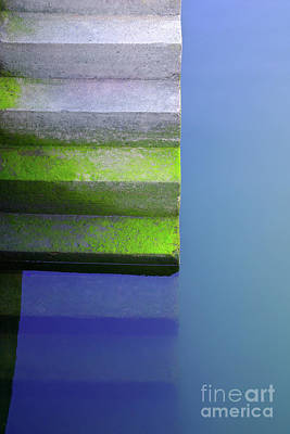 Stairs Wall Art - Photograph - Dock Stairs by Carlos Caetano