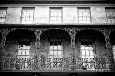 Photograph - Charleston Dock Street Theater Balcony by John Rizzuto