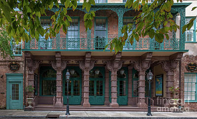 Photograph - Dock Street Theatre In Charleston South Carolina  by Dale Powell