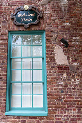 Photograph - Dock Street Window by Dale Powell