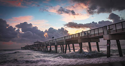 Photograph - Dock To Sunrise by Francisco Gomez
