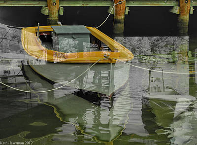 Photograph - Docked And Moored by Kathi Isserman