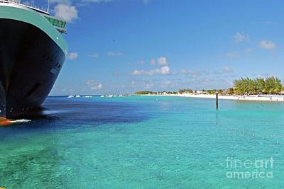 Photograph - Docked At Grand Turk by Gary Wonning