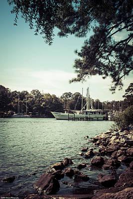 Photograph - Docked At Watson Bayou 2 by Debra Forand