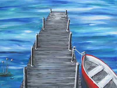 Docked Original by Beverly Livingstone
