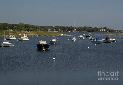 Photograph - Docked Boats by Scott Hervieux