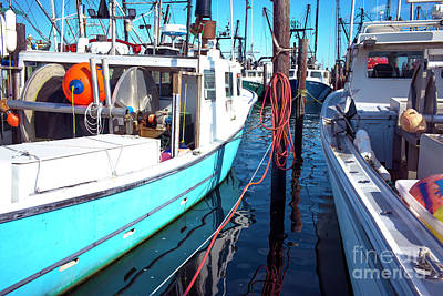 Art Print featuring the photograph Docked In Barnegat Bay by John Rizzuto