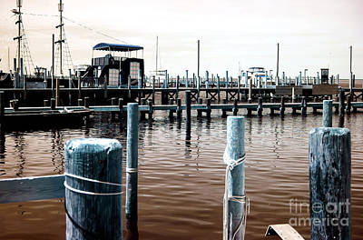 Photograph - Docked In Beach Haven by John Rizzuto
