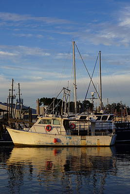 Photograph - Docked In Tarpon Springs by Laurie Perry