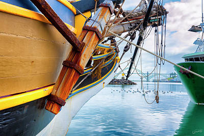 Photograph - Docked In The Bay by Dee Browning