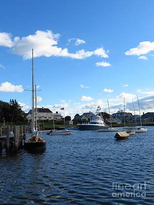 Photograph - Docked In The Harbor by Donna Cavanaugh